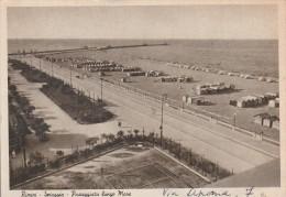 RIMINI - SPIAGGIA - PASSEGGIATA LUNGO  MARE  - G - Rimini