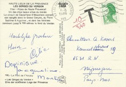 Postage Due. Postcard Sent To The  Netherlands. A-313 - Postage Due