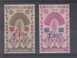 Madagascar  N° 286 Et 287  Neuf ** - Unused Stamps
