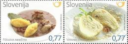 SI 2014-1095-6 GASTRONOMIA, SLOVENIA, 1 X 2v, MNH - Ernährung