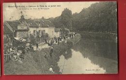 MNO-03 Moret-sur-Loing Concours De Pêche Du 10 Juillet 1910, Au Pont De Bourgogne.ANIME. Cachet 1910 - Pêche