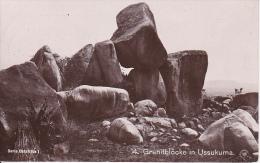 AK Granitblöcke In Ussukuma -Deutsch Ostafrika - Tansania - Feldpost - 1915 (16104) - Ehemalige Dt. Kolonien
