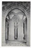 LE MONT SAINT MICHEL - N° 50 - L' ABBAYE - CRYPTE DES GROS PILIERS - CPA NON VOYAGEE - Le Mont Saint Michel