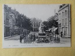 Dep 56 , Cpa LORIENT , 21 , Le Cours La Bove Et Le Théatre , LL  (GL018.91) - Lorient