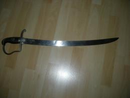 SABRE  TROUPE  ARTILLEUR ALLEMAND   14-18 - Knives/Swords