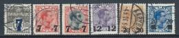 Danemark 1926-1927 N° 168/173 Oblitérés  Série Courante Surchargée - 1913-47 (Christian X)