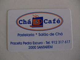 Coffee/Café/Caffe Chá & Café Portugal Portuguese Pocket Calendar 2005 - Calendarios