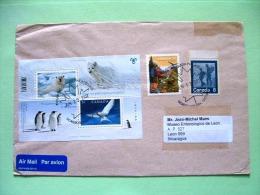 Canada 2011 Cover To Nicaragua - Bears Penguins BF Birds Hiking Maple Leaf Cancel - 1952-.... Règne D'Elizabeth II