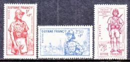 FRENCH  GUIANA   B 9-11    *    VICHY - French Guiana (1886-1949)