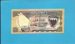 BAHRAIN - 100 FILS - L. 1964 - Pick 1 - Bahrain Currency BOARD - 2 Scans - Bahrein