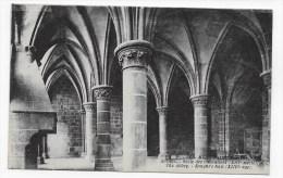 MONT ST MICHEL - N° 56 - ABBAYE - SALLE DES CHEVALIERS - CPA - Le Mont Saint Michel