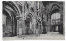 MONT ST MICHEL - N° 52 - ABBAYE - TRAVEES DE L' EGLISE ROMANE ET LE CHOEUR - CPA  NON VOYAGEE - Le Mont Saint Michel