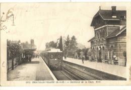 CHAVILLE VELIZY  -  Intérieur De La Gare  105 - Chaville