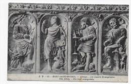 MONT ST MICHEL - N° 85 - ABBAYE - LES QUATRE EVANGELISTES - CPA  NON VOYAGEE - Le Mont Saint Michel