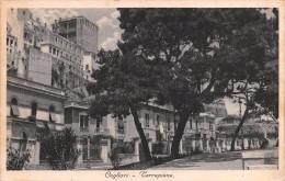 """01819 """"CAGLIARI - TERRAPIENO""""  CART. ORIG.  SPED. 1937 - Cagliari"""