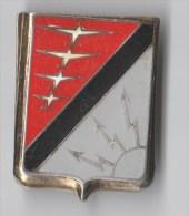 INSIGNE BA 902 BASE AERIENNE CONTREXEVILLE, Noir Et Gris - DRAGO PARIS A 544 - SANS ATTACHE - Armée De L'air