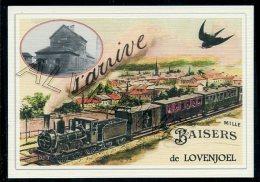 LOVENJOEL  .....train ... Souvenir  Creation Moderne Série Limitée Et Numerotée 1 à 10 ... N°2/10 - Bierbeek