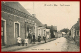 ** Dept 72   Saint Gervais En Belin   , Rue Principale    ( Scan Recto Et Verso ) - France