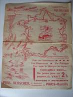 PARTITION - CYCLISME - C'EST LE TOUR QUI PASSE  - MARCHE OFFICIELLE DU TOUR DE FRANCE 1938 - Partitions Musicales Anciennes
