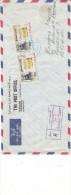 Chevaux - Manama - Lettre Recommandée De 1966 - Oblitération Ajman - Manama