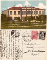 BASARABIA : CAHUL - LICEUL De BAIETI 'ION VOEVOD' - CARTE POSTALE VOYAGÉE En 1927 / MAILED In 1927 - RARE !!! (s-435) - Moldavie