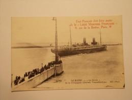 """Carte Postale - LE HAVRE (76) - Bâteau - """"La Savoie"""" De La Cie Générale Transatlantique (3/47) - Sonstige"""