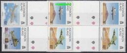 Ascension Island 1992 Liberation Of The Falkland Islands 4v  Gutter ** Mnh (22664) - Ascension