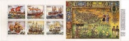 Yugoslavia,Booklets,Booklet ( Carnet ).1989 - Golden Age Of Sailing Ships - Sailing Ships Of The Adriatic Sea.Dubrovnik - Booklets