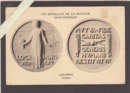 Administration Des Monnaies Et Médailles , Quai Conti - Série Historique - Locarno (turin Italie ) - Voir état - Monnaies (représentations)
