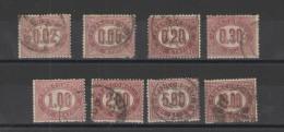 REGNO 1875 SERVIZIO SERIE CPL. US. - Servizi