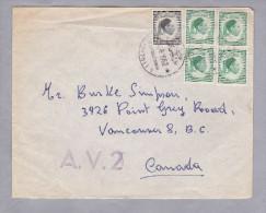 Lybien 1952-08-23 A.V.2-Brief Nach Kanada - Libye