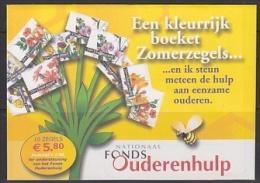 Nederland 2003 Bloemen / Bloeiend Verleden 10w In Velletje (in Ongeopend Mapje)  ** Mnh (22673) @ Face - 1980-... (Beatrix)