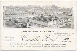 LYON - Manufacture De Corsets Camille Bois - Autres