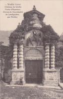 Cpa Château De Vizille - Porte D´Honneur Statue Du Connétable De Lesdiguière - Couronné De Lierre - Vizille