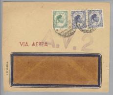 Lybien Libia 1955-02-29 Brief Via Aerea Mit A.V.2 Violett - Libye