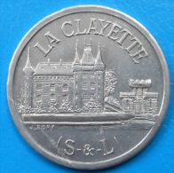 Saône-et-Loire 71 , La Clayette , Union Commerciale Et Industrielle 25 Centimes Elie 10.2 SUPERBE - Monetary / Of Necessity