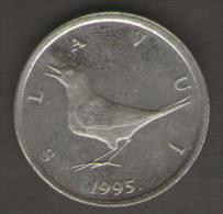 CROAZIA 1 KUNA 1995 - Croazia