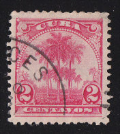 CUBA - Scott #228 Royal Palms (*) / Used Stamp - Cuba
