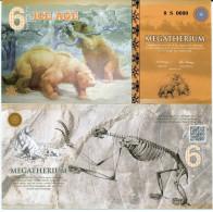 ICE AGE - LE MEGATHERIUM / 6 DOLLARS 2015 / SPECIMEN - Specimen