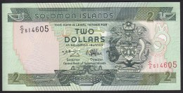 Solomon Islands 2 Dollar 1997 P18 UNC - Solomon Islands