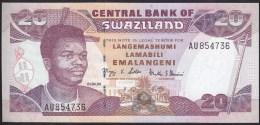 Swaziland 20 Emalangeni 2004 P30b UNC - Swaziland