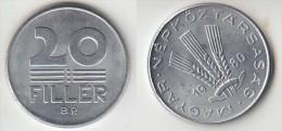 Ungheria 20 Filler 1980 Km#573 - Used - Ungheria