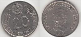 Ungheria 20 Forint 1989Km#630 - Used - Ungheria