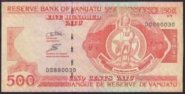 Vanuatu 500 Vatu 2006? P5c UNC (Nice Number DD880030) - Vanuatu