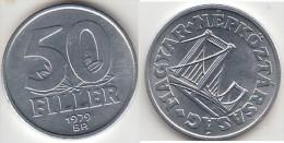 Ungheria 50 Filler 1979 Km#574 - Used - Ungheria