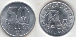 Ungheria 50 Filler 1991 Km#677 - Used - Ungheria
