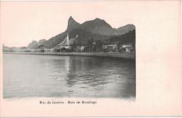 Carte Postale Ancienne De RIO DE JANEIRO - BAIE DE BOTAFOGO - Rio De Janeiro