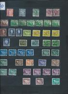 IRLANDE - Perforés - Détaillons Importante Collection Du Monde - A Bien étudier - Pour Spécialistes - Lot 7180 - Irlanda