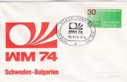 FIFA World Cup Football 1974: Düsseldorf 1974 Sweden - Bulgaria   (G34-12) - Coppa Del Mondo