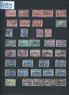 Perforés - Détaillons Importante Collection Du Monde - A Bien étudier - Pour Spécialistes - Lot 7189 - Perforés